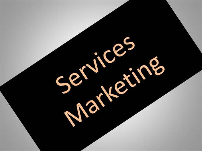 Some Ideas on Services Marketing
